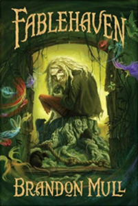 The last book on our list of good books for teens is Fablehaven, by Brandon Mull.
