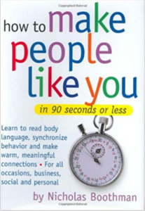 How to Make People Like You by Nick Boothman is sixth on our list of good books for teens.