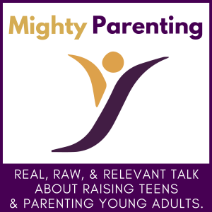 Cover art for Mighty Parenting podcast.
