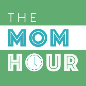 Cover art for The Mom Hour parenting podcast.