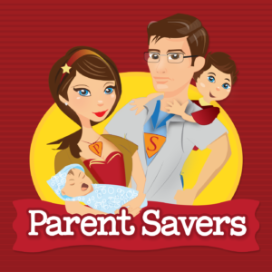 Cover art for Parent Savers parenting podcast.