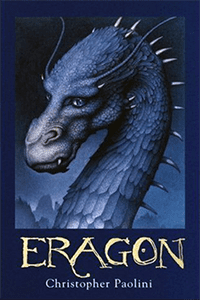 The last book on our list of sci-fi books great for teens is Eragon, by Christopher Paolini.