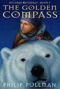 The first book on our list of sci-fi books great for teens is Dark Materials: The Golden Compass by Philip Pullman.