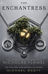 Fourth on our list of sci-fi books great for teens is The Enchantress by Michael Scott.